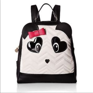 Betsey Johnson Kitsch Panda Backpack